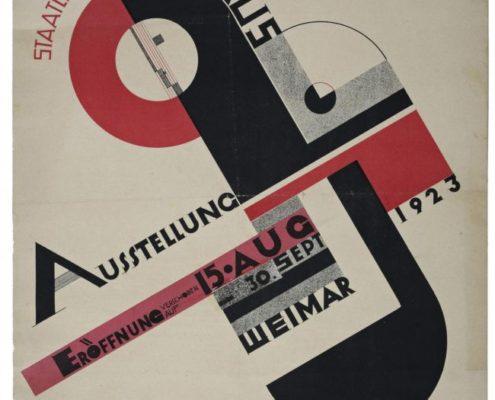 1923 Exposição Bauhaus em Weimar - Um Clássico