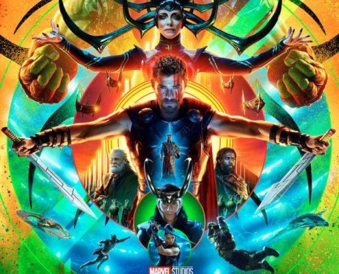 O novo cartaz de Thor foi revelado como parte das festividades de San Diego Comic Con