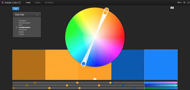 Encontrar uma paleta de cores complementar nunca foi tão fácil