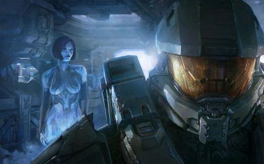 O relacionamento contínuo de Cortana e Master Chief, que os torna alguns dos personagens mais icônicos dos jogos