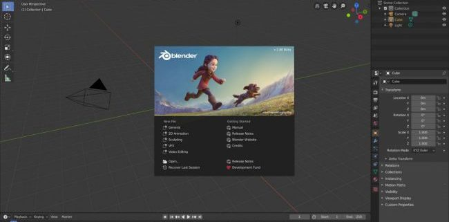 Blender 2.8 para Download