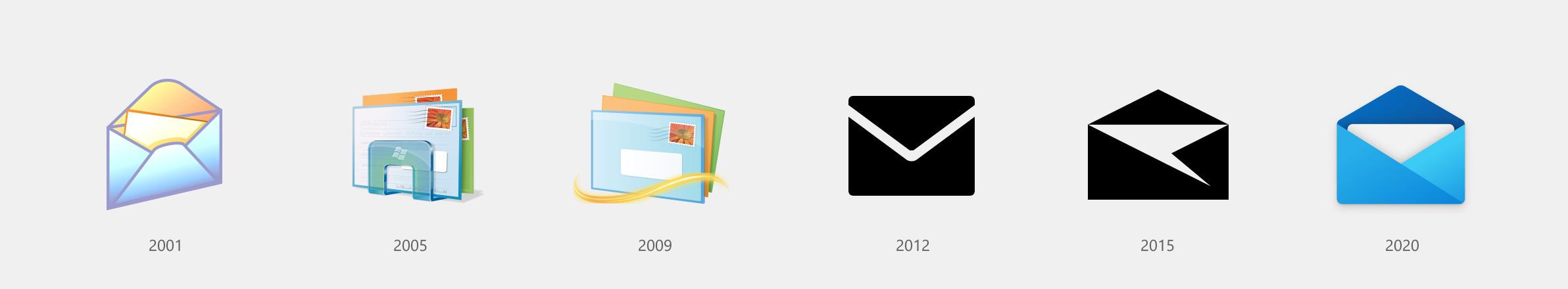 Novos ícones do Windows 10